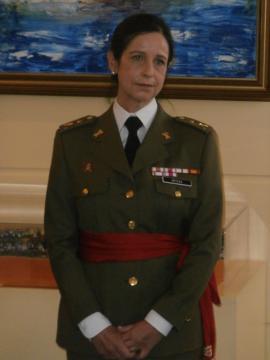 Patricia Ortega, primera genral en la historia del Ejército Españoll