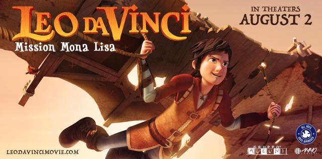 'Leo Da Vinci: Mission Mona Lisa' soars into theaters Friday, August 2, 2019 (via AmmoContent.com)