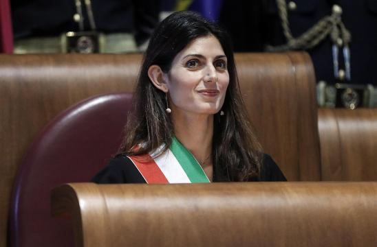 Virginia Raggi, sindaca di Roma - lettera43.it