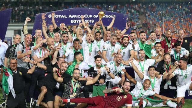 Argelia es ahora dos veces campeona de África.
