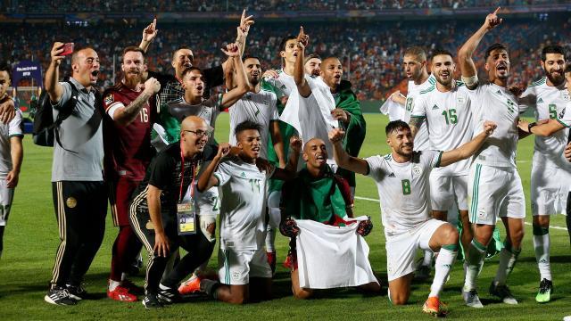 Argelia es la justa campeona de la Copa Africana de Naciones. www.com.ar
