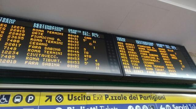 Binario Treno Roma Termini Fiumicino - Le stazioni di Roma: treni ... - camminasardegna.it