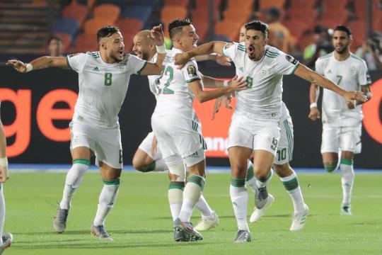 Bounedjah marcó el único gol del partido. www.libertaddigital.com