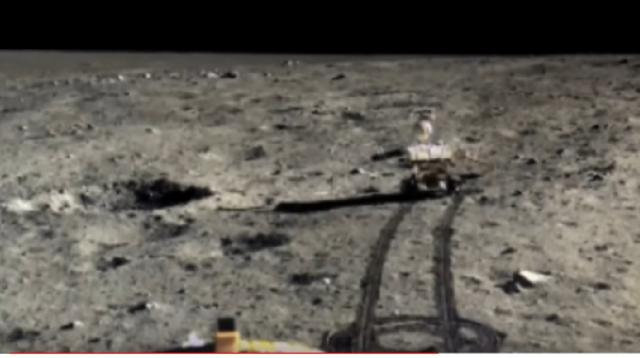 China releases full color HD Moon photos. [Image source/ShantiUniverse YouTube video]