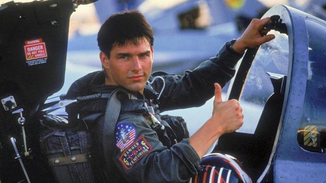 Tom Cruise, protagonista di TOP GUN - geektyrant.com