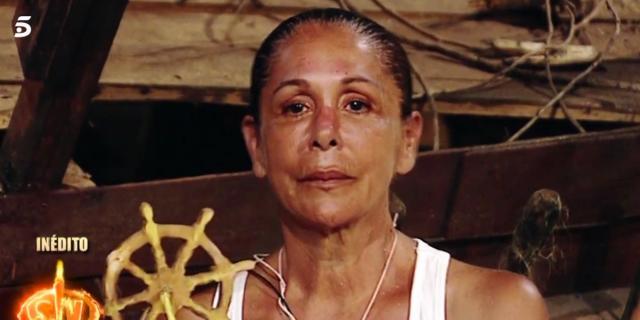 Isabel Pantoja contra Carlos Lozano en 'Supervivientes 2019':