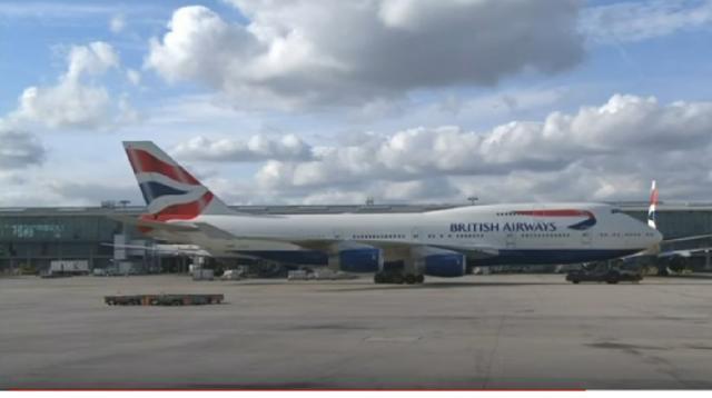 British Airways suspends flights to Cairo. [Image source/Sky News Australia YouTube video]
