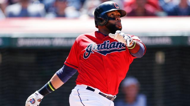Santana ha sido parte importante el renacer de los Indians. MLB.com.