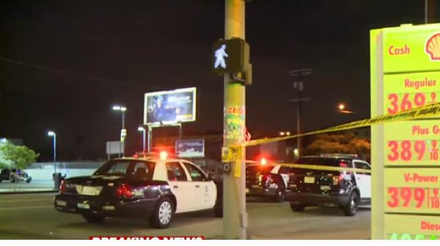 Suspect who allegedly shot and killed dad, brother and 2 others arrested in LA. [Image source/ABC News YouTube video]