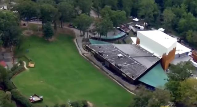 Howard County negotiating to bring Woodstock 50 to Merriweather. [Image source/WBAL-TV 11 Baltimore YouTube video]