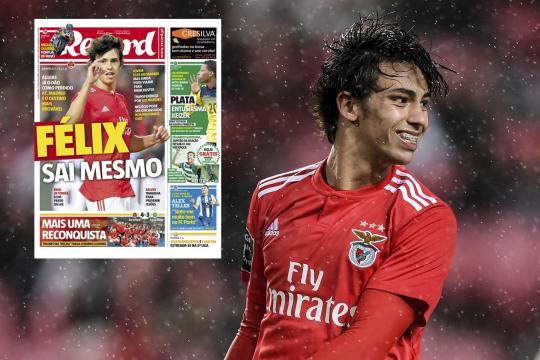 Fichajes: Benfica hace oficial una oferta del Atleti por Joao ... - goal.com