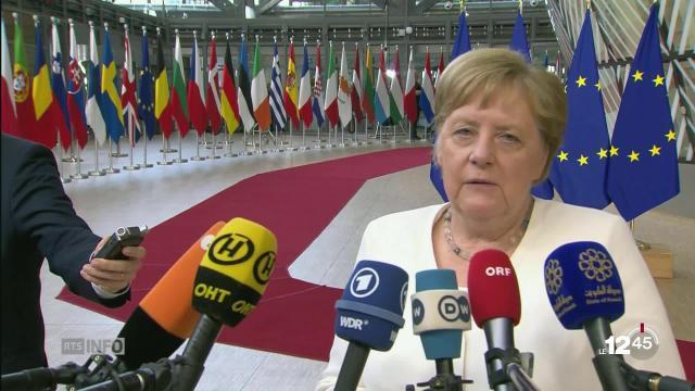 Le sommet des nominations de l'Union européenne suspendu jusqu'à ... - rts.ch
