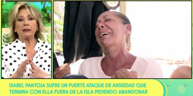 Mila Ximénez comprende el ataque de ansiedad de Isabel Pantoja en ... - bekia.es