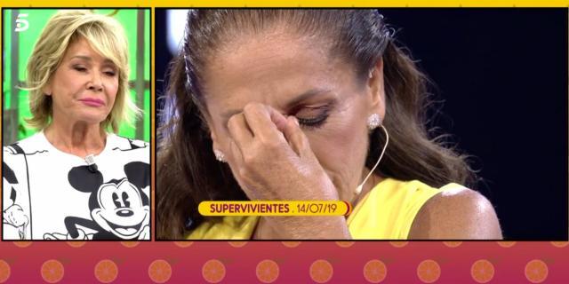 Mila Ximénez se arrodilla ante Isabel Pantoja tras su paso por ... - bekia.es