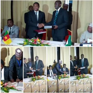 7e session du comité de sécurité transfrontalière Cameroun - Nigéria à Yaoundé © Odile Pahai