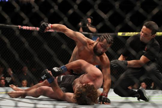 Masvidal acabó con el invicto de Askren. www.businessinsider.in