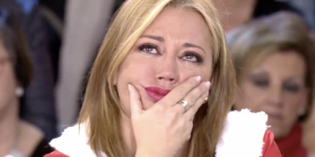 Belén Esteban rompe a llorar por los más desfavorecidos:
