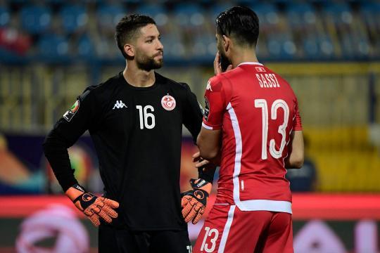Túnez cambió de portero al final del tiempo extra. www.marca.com