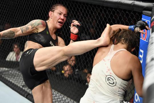 Cyborg quiere pelear de nueva cuenta vs Amanda. www.bleacherreport.com