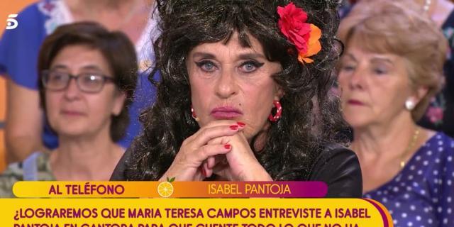 Isabel Pantoja abre la puerta a la reconciliación a Chelo García ... - bekia.es