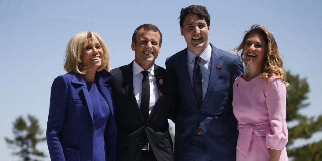 Brigitte Macron au G7 : un programme entre folklore et planète - lejdd.fr