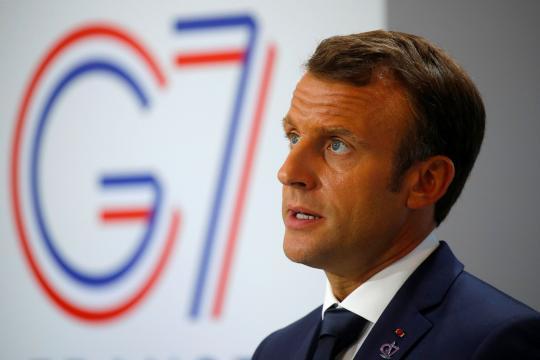 G7 : à Biarritz, Macron se pose en élément central de la diplomatie internationale