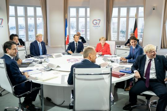 Trudeau meets with Macron as G7 leaders wrap up meeting in ... - canadianmanufacturing.com