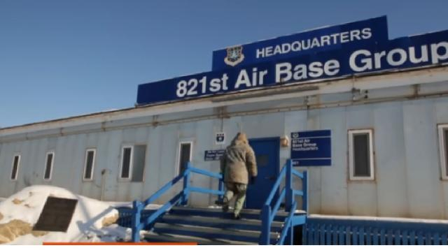 Cold War-Era US Air Base in Greenland gets a second act. [Image source/TODAY YouTube video]