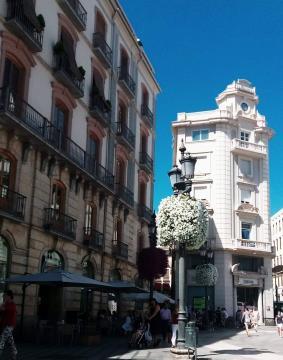 Centro de Granada. Foto de Carlos Costa
