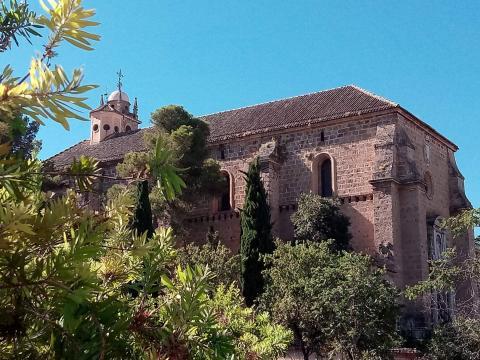 Mosteiro da Cartuxa (1506), junto à Universidade de Granada. Foto de Carlos Costa