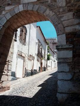 Porta de Santarém, Castelo de Estremoz. Foto de Carlos Costa