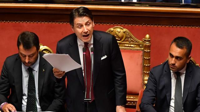 El primer ministro italiano Giuseppe Conte presentará hoy su ... - rtve.es