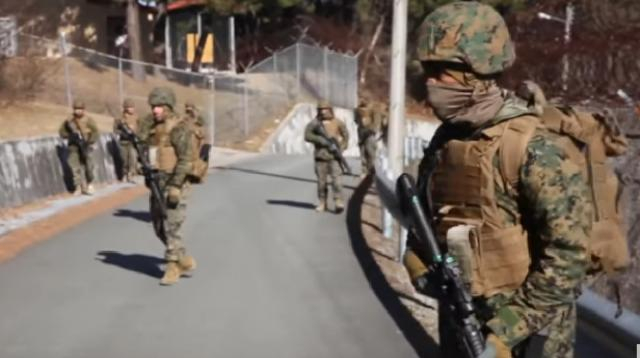 U.S., South Korea prepping joint military drills. [Image source/Newsy YouTube video]