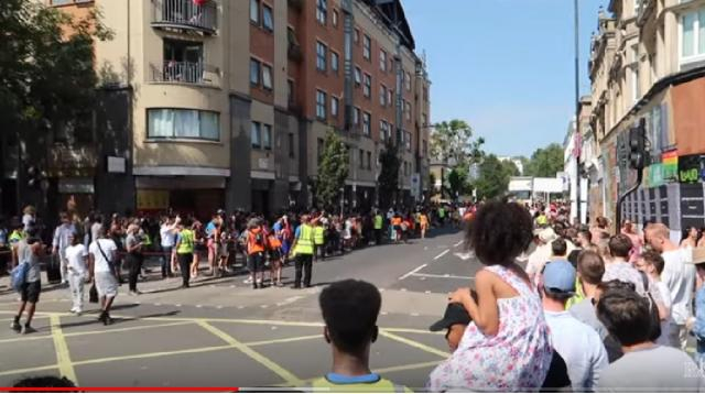 Notting Hill Carnival 2019 London. [Image source/ROBERTS LONDON YouTube video]