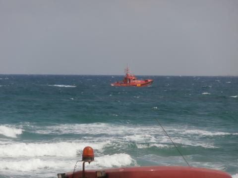 Salvamento Marítimo desplegó dos de sus buques a colaborar en las tareas de rescate