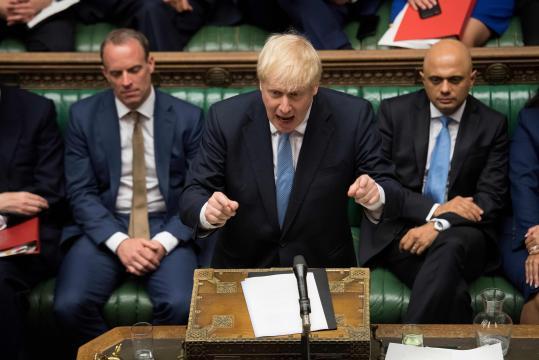Brexit : Emmanuel Macron et Boris Johnson s'entretiendront dans ... - newsstandhub.com