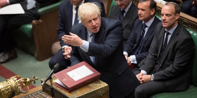 Brexit : la nouvelle journée désastreuse de Boris Johnson au Parlement - lejdd.fr