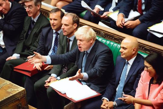 Brexit: le Parlement britannique neutralise Boris Johnson | Le ... - newsstandhub.com