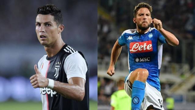 Ronaldo Mertens Juventus Napoli