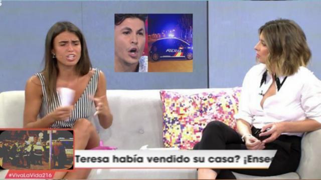 Sofía explica la detención de Kiko Jimenez por la policia en Viva la Vida