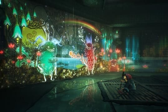 Il colorato Concrete Genie è ispirato alle illustrazioni dei libri - eurogamer.it