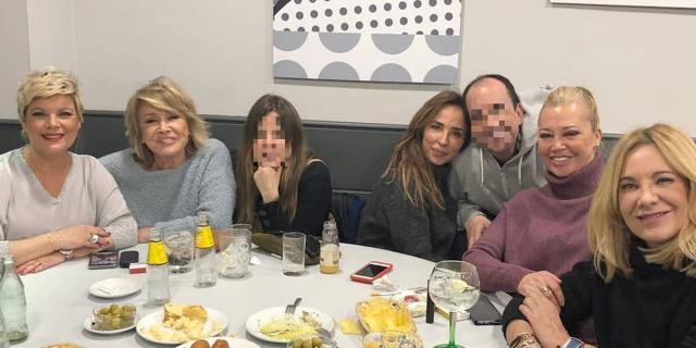 Terelu Campos celebra su vuelta a 'Sálvame' con Belén Esteban ... - bekia.es