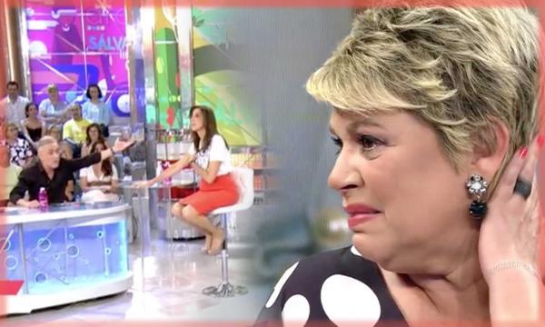 Terelu Campos, hundida por las críticas de 'Sálvame', abandona el ... - vivafutbol.es