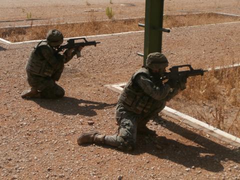 En la instrucción se busca el máximo esfuerzo por los reclutas y que estos respondan con interés