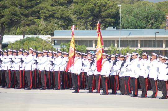 La toma de juramento va rodeada de la máxima solemnidad posible