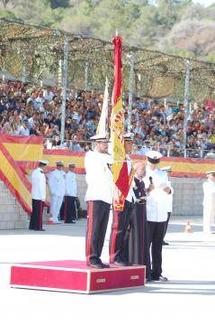 Las juras de bandera actuales solo implican a tropa profesional que ha optado por la milicia como opción laboral