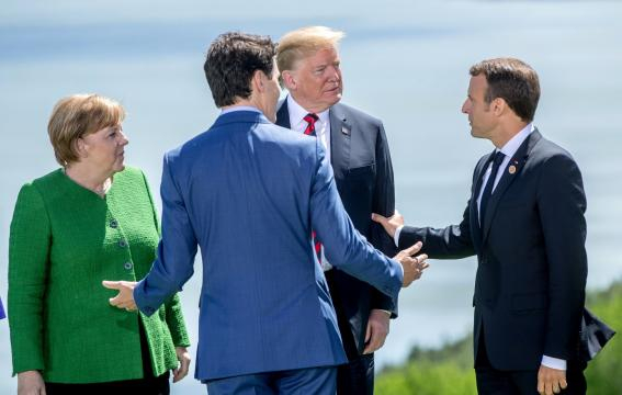 Emmanuel Macron en médiateur au G7 | Le Figaro | NewsstandHub - newsstandhub.com