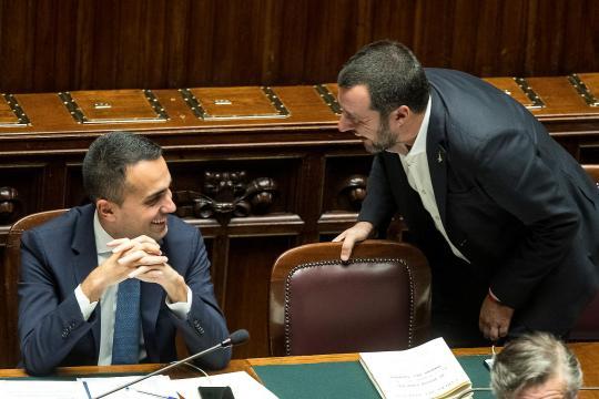 Luigi Di Maio e Matteo Salvini ormai non sono più alleati