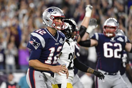 Los Pats mostraron su poderío al aplastar a Pittsburgh. www.nflspinzone.com
