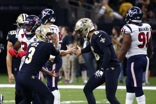 Los Saints ganaron de manera dramática 30-28. www.yahoo.com